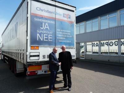 40 trucks op de weg voor lijst 8 - ChristenUnie nl